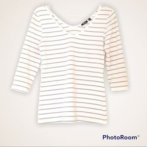 2 for $22 🌺 Mexx Striped Top, Size S